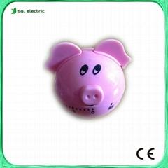 Pig Animal Kitchen Timer / Cooking Timer
