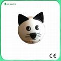 cat animal shaped manual dial timer