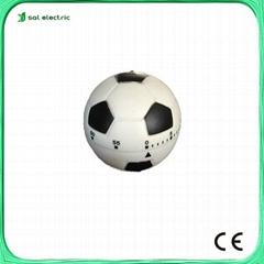 football shape kitchen timer