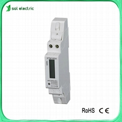 din rail single phase LCD electric meter  (Hot Product - 1*)