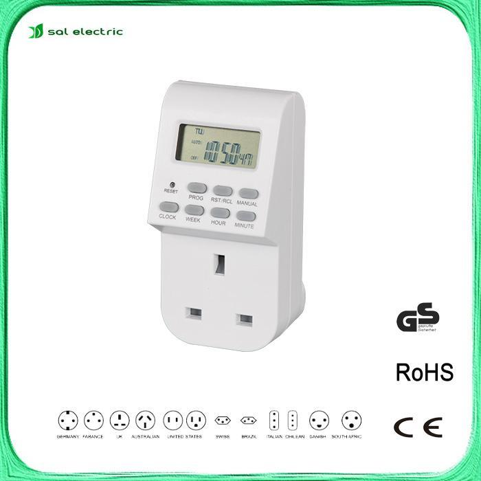 weekly digital plug-in programmable timer  1