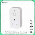 UK smart controlled socket