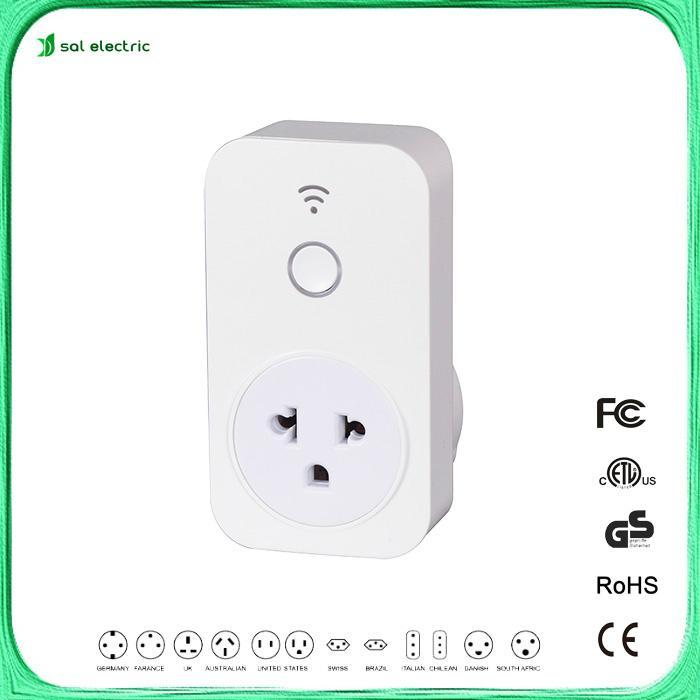Brazil wifi timer socket for smart home  1