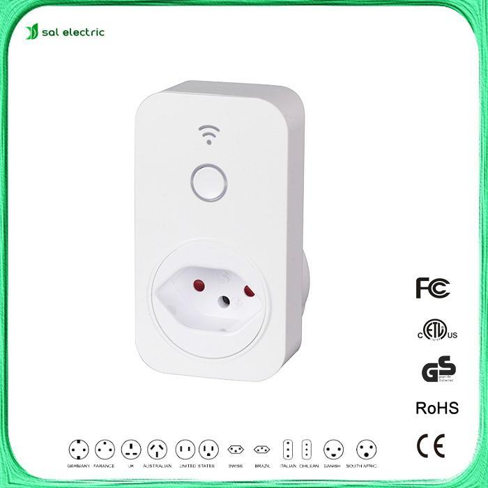 Switzerland smart controlled timer switch/wifi socket  1