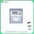 weekly digital timer socket