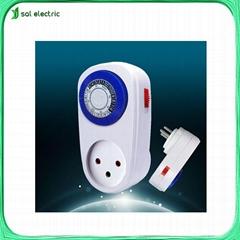 mechanical timer socket for Israel market