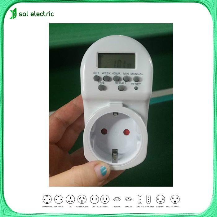mini digital timer socket  1
