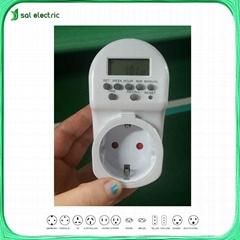 mini digital timer socket