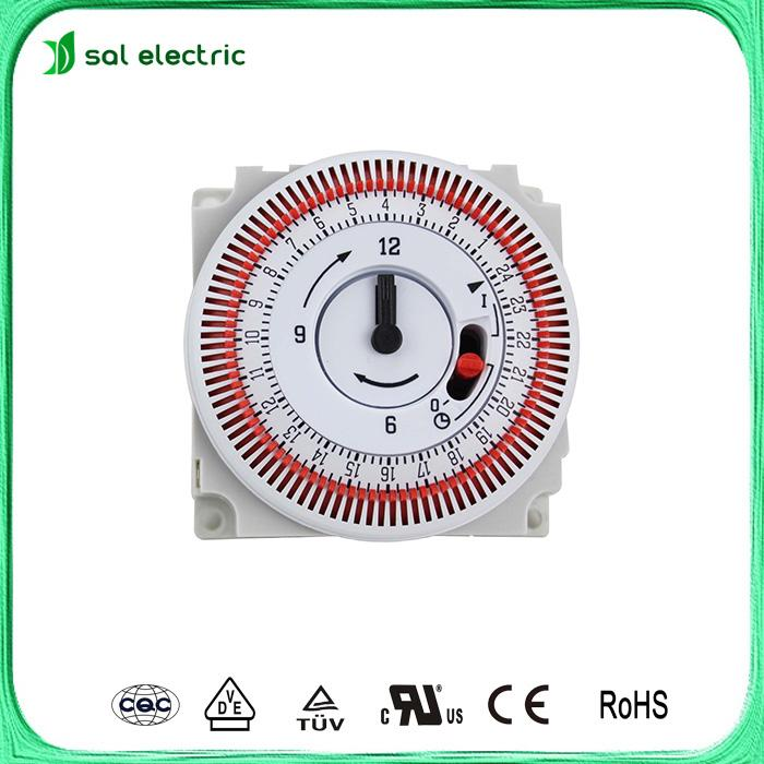 250V Max. Voltage and 10~70 Operating Temperature timer switch 1