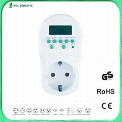 20Amp Max. Current and AC220V 50/60Hz Voltage Rating Digital Timer Switch 20A