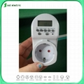 20Amp Max. Current and AC220V 50/60Hz Voltage Rating Digital Timer Switch 20A 2