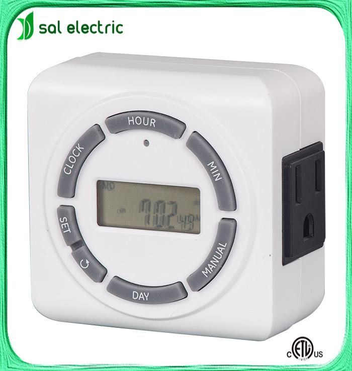 16A 110V Relay Digital LCD Power Programmable Timer Time Switch 1
