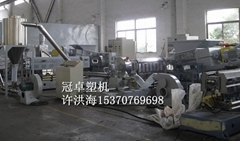 江苏CPE橡胶电缆料造粒机