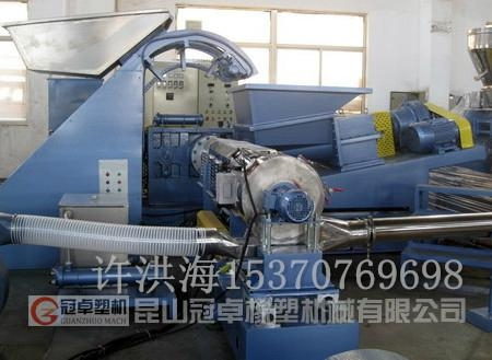 江苏CPE橡胶电缆料造粒机 4