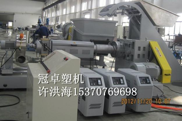 江苏CPE橡胶电缆料造粒机 5