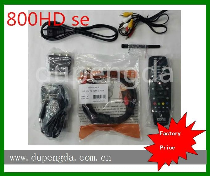 dreambox 800hd se cable receiver with sim210 wifi - DM800HD