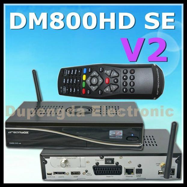 V2 dreambox DM800HD SE with sim2 2 wifi - V2 DM800HD