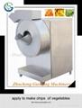 2014 new arrival high quality fresh potato chips slicing machine 1