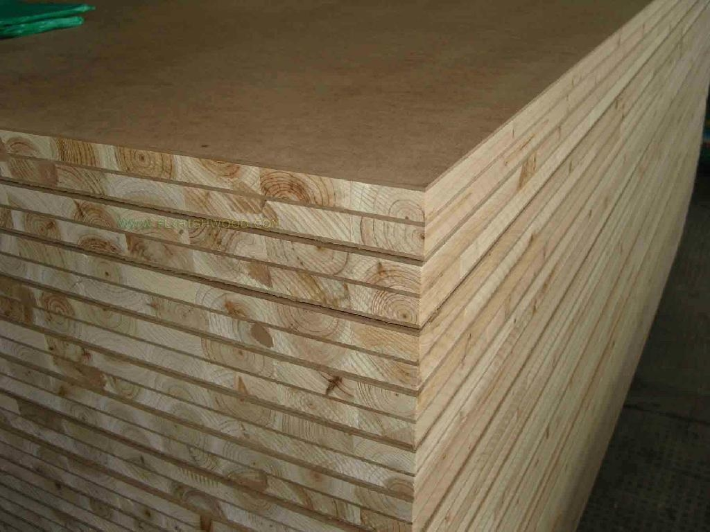 Mdf block board china manufacturer timber plywood