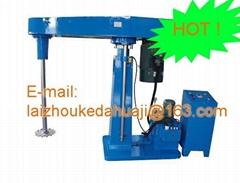 high speed hydraulic lifting dispersion  machine