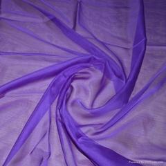 100%silk plain dyed silk chiffon silk fabric