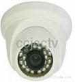 Indoor IR Dome Camera cmos 600TVL;700TVL;1200TVL