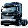 New Howo A7 Heavy Truck 6*4 Tractor Truck 25T 1