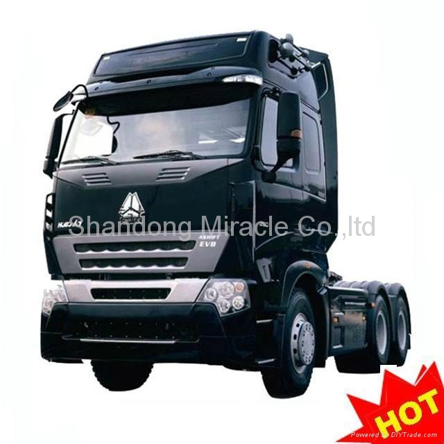 New Howo A7 Heavy Truck 6*4 Tractor Truck 25T 4