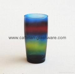 color sprayed cup