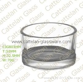 glass candle holder 1