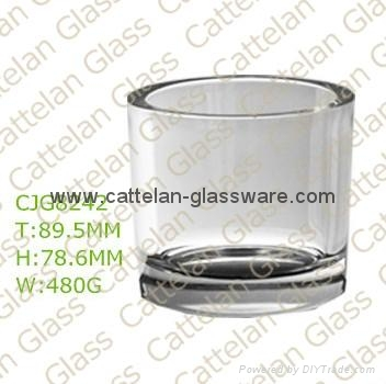 glass candle holder 5