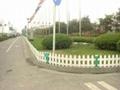 四川成都草坪塑胶栏杆 4