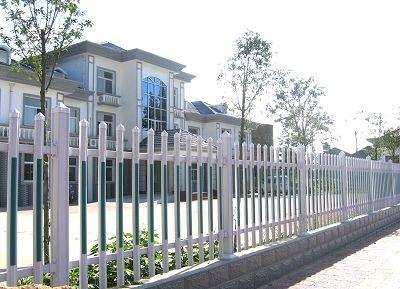 四川成都塑钢栅栏PVC护栏栅栏 1