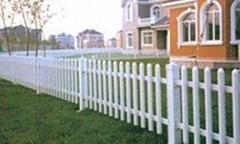 四川凉山花草PVC护栏栏杆