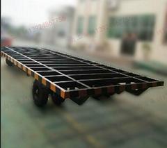 10吨骨架式平板拖车