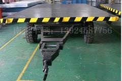装甲20吨双牵引平板拖车