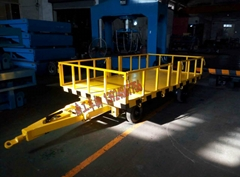 1噸護欄平板拖車 南工車輛專業訂製