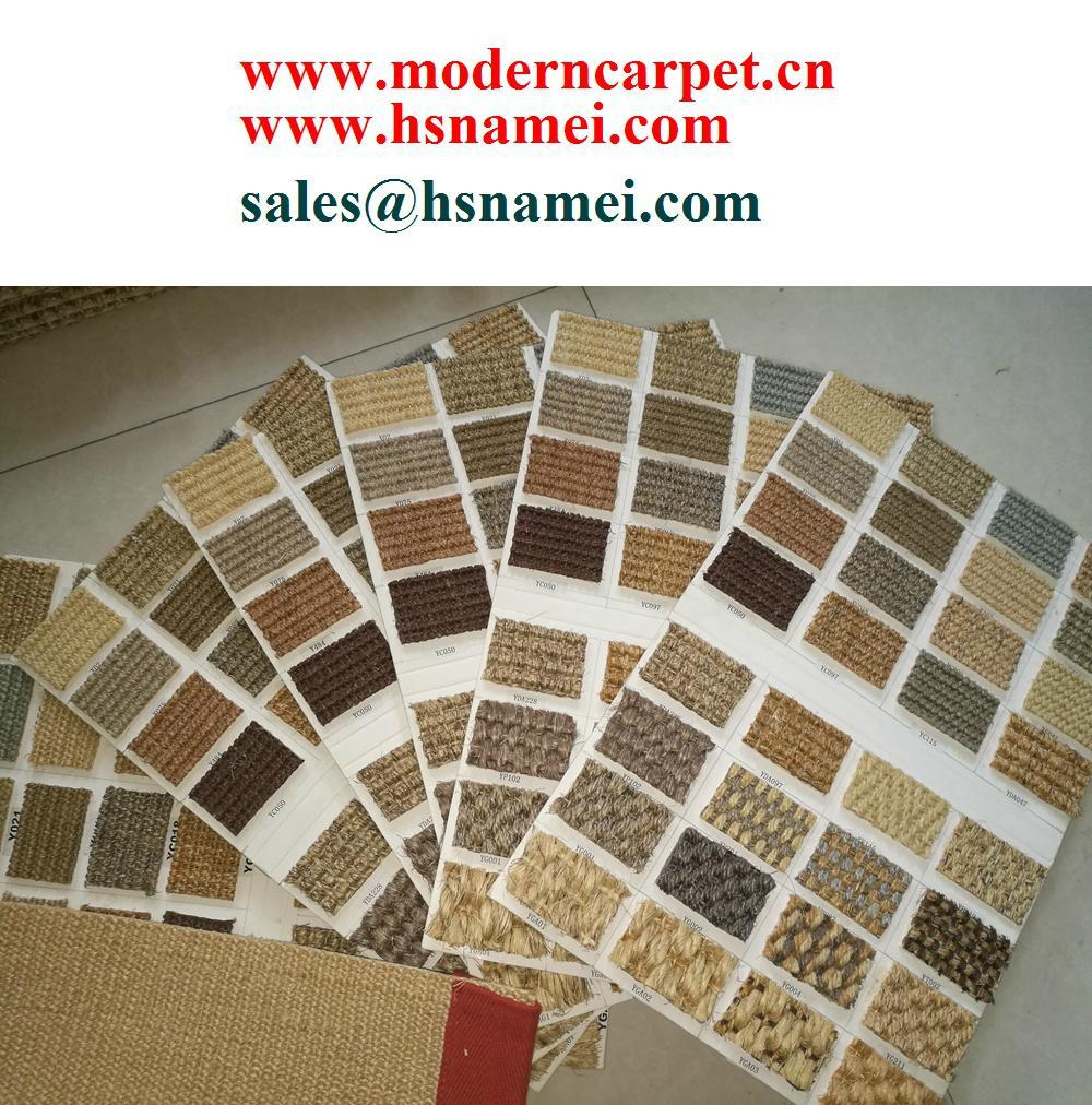 Chinese Natural Sisal Carpet Factoy Wall To Wall Sisal