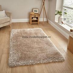 china long pile polyester plush shaggy rugs,shag carpet rugs.