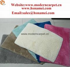 Soft Polyester microfiber shaggy carpet rugs,shag rug,microfiber rugs