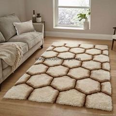3d polyester shaggy carpet shaggy rugs,3d shag area rugs