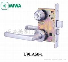 日本MIWA美和执手锁 U9LA50-1