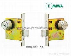 日本MIWA美和单闩锁 U9DA-1