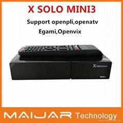 Enigma2 linux dvb-s2+c+t2 combo X solo mini3   BCM7362  1200MHZ Dual  processor