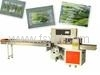 High Speed Fresh Vegetable Down-Paper Pillow Packaging Machine