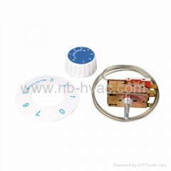 Defrost Thermostat  Bimental thermostat Ranco type thermostat