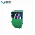 Folding PP Corrugated Plastic Wardrobe