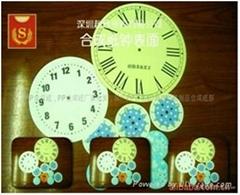 鐘錶盤專用PP合成紙