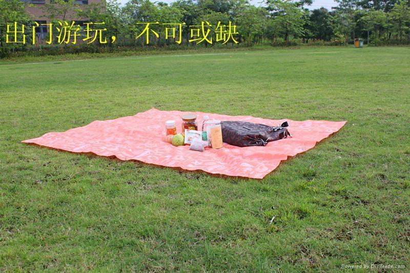 沙滩露营野餐旅行专用地席 1