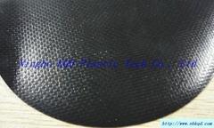 黑色无气味环保无毒PVC夹网布帐篷面料